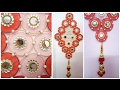 How to make wall hanging with bangles and cloth I DIY craft I Best out of waste I Creative Diaries