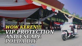 Video Wow keren, VIP Protection and Escape Polda DIY MP3, 3GP, MP4, WEBM, AVI, FLV Oktober 2017