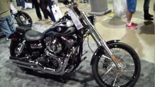 6. 2013 Harley Davidson FXDWG Wide Glide Motorcycle