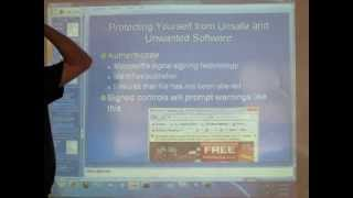 Sam's Windows 7 Class - Sat Sept 7, 2013 - Part 2