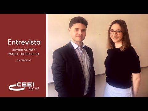 Entrevista a Javier Aliño y María Torregrosa[;;;][;;;]