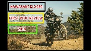 8. 2018 Kawasaki KLX250 First Ride Review