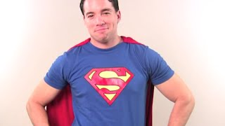 How to Make a Superman Costume - YouTube