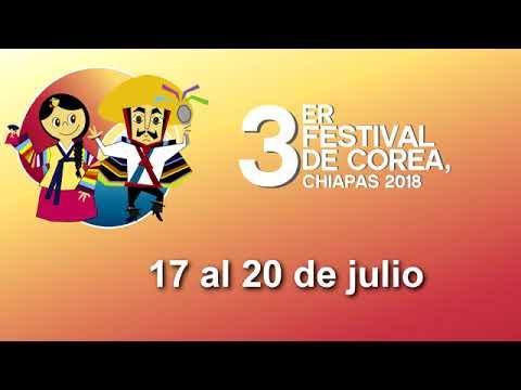 3er. Festival de Corea, Chiapas 2018
