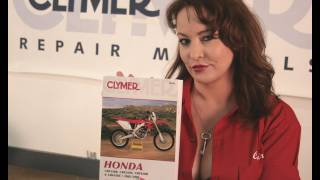 2. Clymer Manuals Honda CRF250R CRF250X CRF450R CRF450X CRF Shop Service Repair Dirt Bike Manual Video