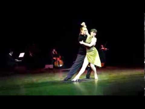 Аргентинское танго. Алексей Салиенко и Екатерина Назарова