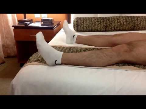 Fun In Bed In White Socks