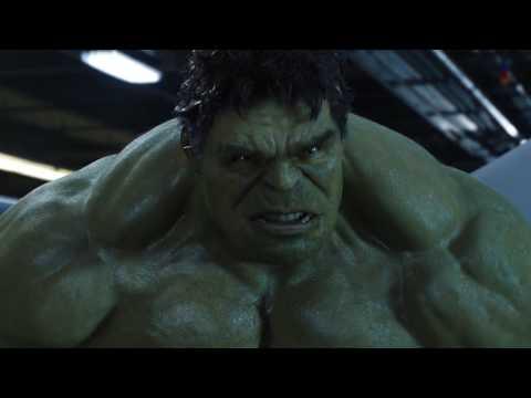 Thor vs  Hulk   Helicarrier Fight Scene   The Avengers 2012 Movie Clip Blu ray 1080p