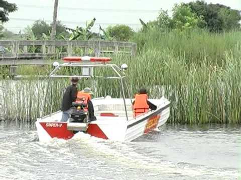 เรือท้องแบน กู้ภัย short tail boat