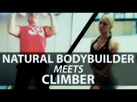 Natural Bodybuilder Meets Climber (eng Sub)
