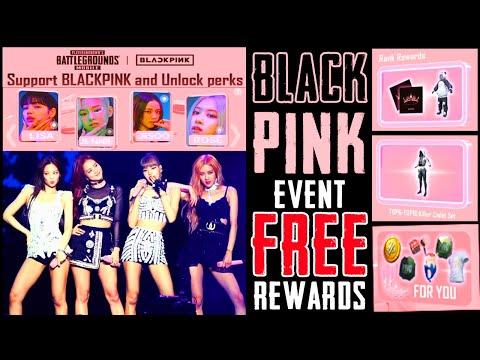 BLACK PINK PUBG NEW EVENT is Here || Pubg Mobile FREE Rewards