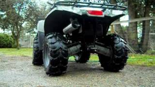 7. 06 arctic cat 400 with speedwerx exhaust