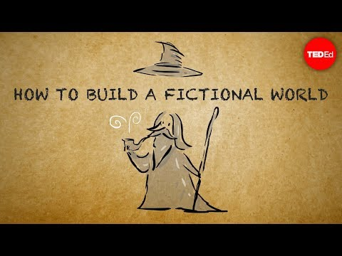 How to build a fictional world - Kate Messner (видео)
