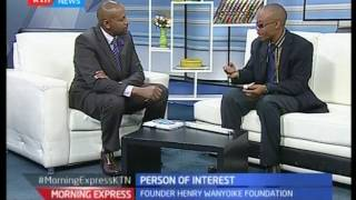 Person Of Interest Paralympic Gold Medalist - Henry Wanyoike, Morning Express 20/09/16