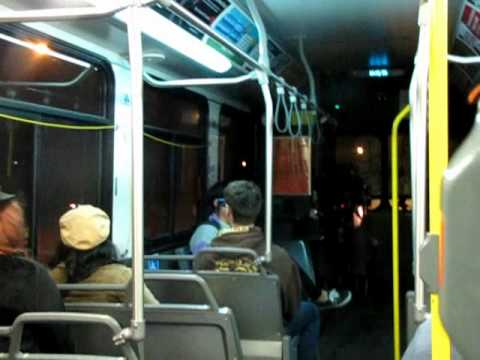 KIDS GO CRAZY ON WINNIPEG TRANSIT BUS