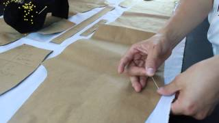 Video LESSON 1- Making a pants- How to cut the fabrics properly MP3, 3GP, MP4, WEBM, AVI, FLV Desember 2018