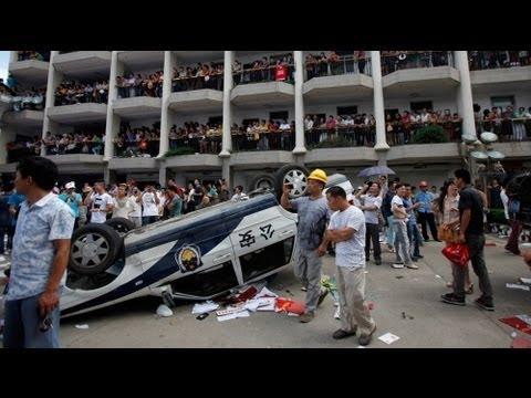 متظاهرون في الصين ينجحون في وقف مشروع ملوث للبيئة - فيديو