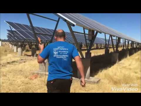 Os llevamos a ver nuestra planta fotovoltaica a Morille