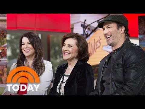 'Gilmore Girls' Cast Talks Revival, Last 4 Words, Alexis Bledel Phones In | TODAY