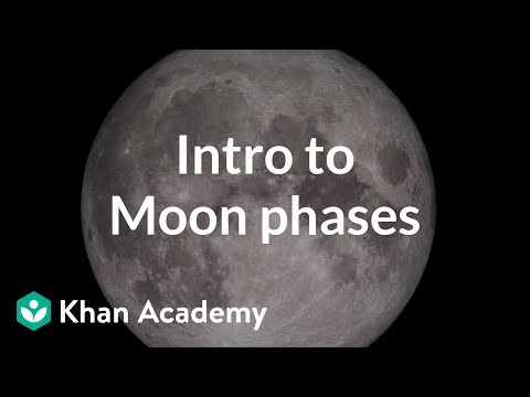 Intro To Moon Phases Video Khan Academy