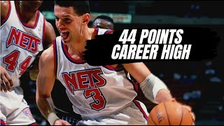 Drazen Petrovic NBA Career High - All Drazen's points+Interview with him