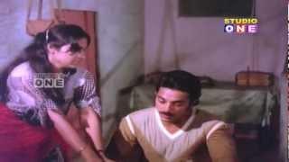 kamal hassan and Madhavi Comedy Scene In Amavasya Chandrudu