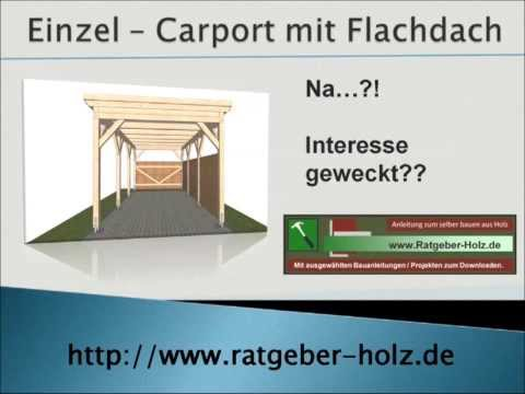 carport selber bauen bauanleitung intro free video. Black Bedroom Furniture Sets. Home Design Ideas