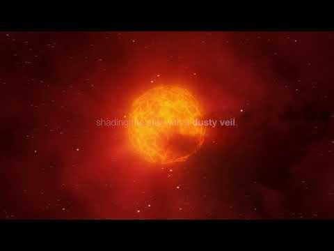 獵戶座的參宿四在2019年底到2020年初變暗之謎。影片來源:歐洲南方天文台。