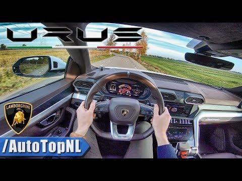 LAMBORGHINI URUS 4.0 V8 BiTurbo 650HP POV Test Drive by AutoTopNL