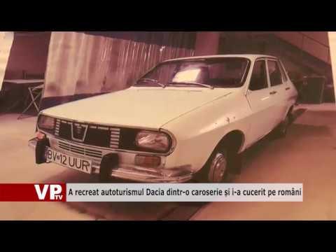 A recreat autoturismul Dacia dintr-o caroserie și i-a cucerit pe români