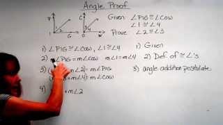 Geometry Angle Proof