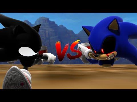 Dark Super Sonic V.S. Sonic.EXE - The Race [Animation] ソニック v. ソニック