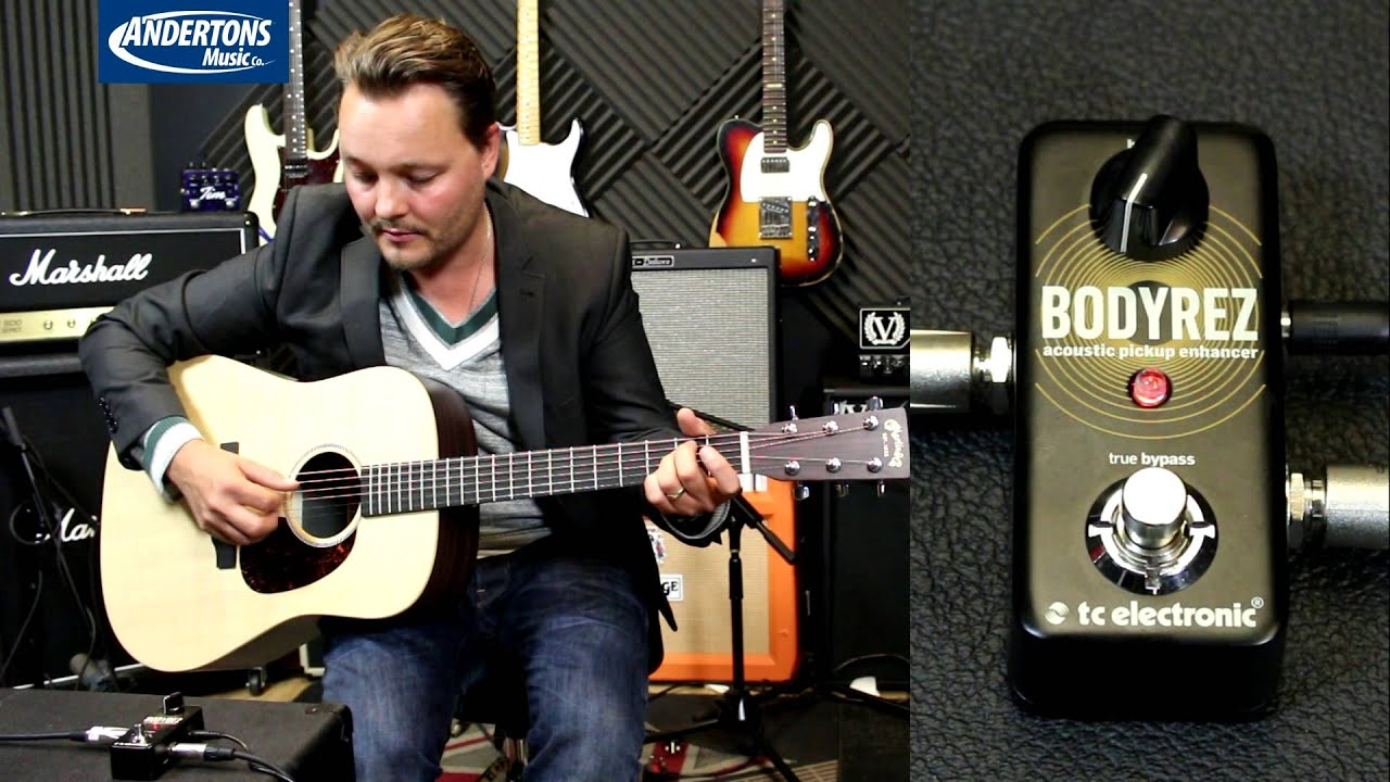 TC Body Rez Pedal – How to make an Acoustic Guitar pickup sound better!