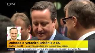 Dohoda o vztazích Británie a EU