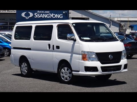 2007 Nissan Caravan DX Long Van 3000cc Diesel Turbo Intercooler! Automatic