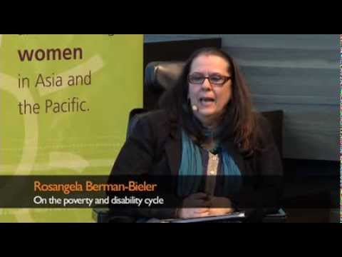 Rosangela Berman-Bieler on the poverty and disability cycle
