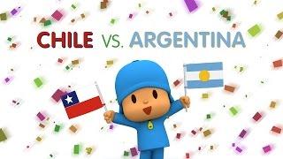 Copa America 2015 with Pocoyo: CHILE vs ARGENTINA, copa america 2015, lich thi dau copa america 2015, xem copa america 2015, lịch thi đấu copa america 2015, copa america 2015 chile