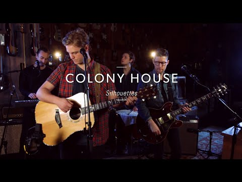 "Colony House ""Silhouettes"" At Guitar Center"