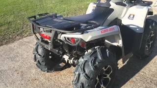 10. Can Am Outlander L 450 HMF Performance Exhaust