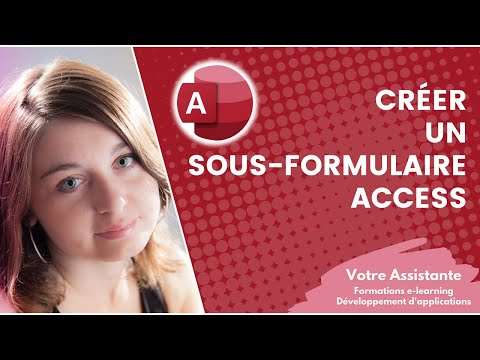comment ouvrir access sur un formulaire