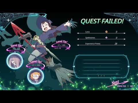 Little Witch Academia Game 9   Jasminka Teaches Us Cooking Spell!