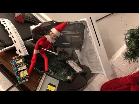 Elf On The Shelf Took Apart And Broke Kid's Xbox One [ Original ]