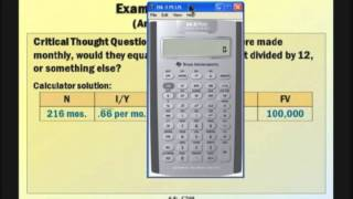 Financial Management: Lecture 4, Chapter 6: Part 1 - Discounted Cash Flow Valuation