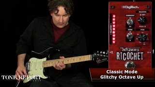 http://digitech.com/en-US Welcome back to ProGuitarShop and ToneReport.com. Today we're rallying around the Ricochet, from DigiTech. Taking the same guts fro...