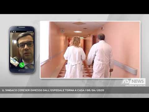 IL SINDACO CERESER DIMESSO DALL'OSPEDALE TORNA A CASA | 06/04/2020