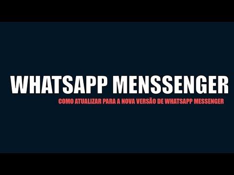 Baixar whatsapp - WHATSAPP MESSENGER 2018 DOWNLOAD-Como atualizar no seu dispositivo Android a nova versão do whatsap
