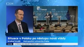 Situace v Polsku po nástupu nové vlády