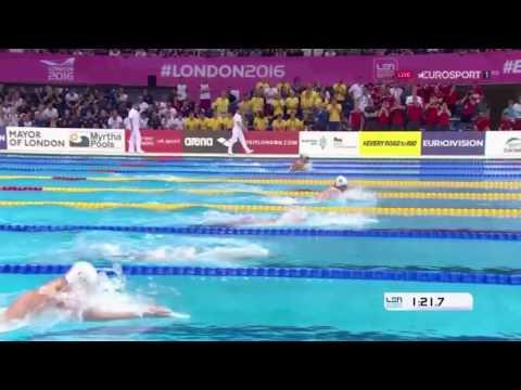 EM 2016 - 200m Brust - Macro Koch Zweiter