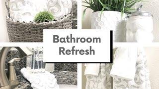 GUEST BATHROOM REFRESH | SPRING EDITION