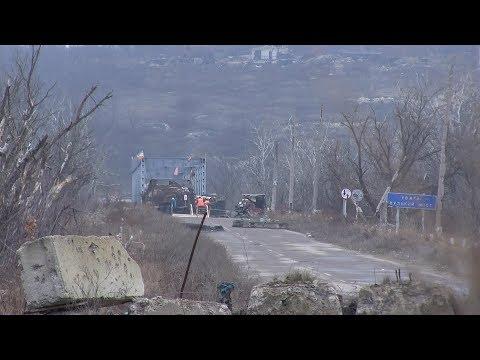 Ситуація на КПВВ в Станиці Луганській та Золотому